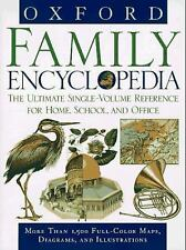 Oxford Family Encyclopedia (1997, Hardcover) Excellent For Teaching & Learning