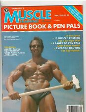 MUSCLE TRAINING Picture Book & Pen Pals + Many Posters Pat Neve 9-79