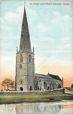 POSTCARD   BUCKINGHAMSHIRE     OLNEY  St  Peter and Paul's  Church