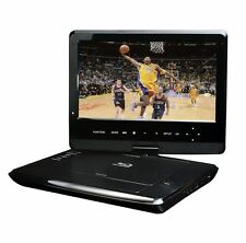 "Blu-Ray DISC/DVD Player Swivel Screen Maxmade Portable 10.1"" Black BDP-M1061"