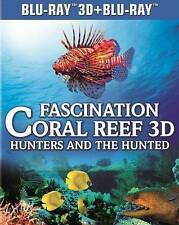 Fascination Coral Reef: Hunters and the Hunted (Blu-ray Disc, 2013, 3D)