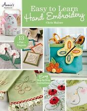 Easy to Learn Hand Embroidery, Malone, Chris, New Books