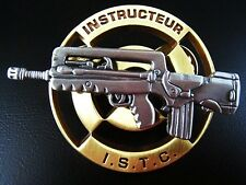 GENUINE FRENCH FOREIGN LEGION WEAPONS INSTRUCTOR I.S.T.C. BADGE MEDAL