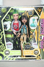 Monster High Puppe Cleo de Nile & Deuce Gorgon Basic 1. Serie Wave mit OVP
