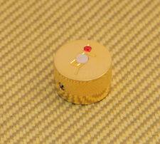 922-1026-000 (1) Gretsch Gold Jewel Guitar Knob For Solid Shaft USA Set Screw