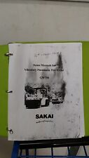 SAKAI GW750 VIBRATING ROLLER DEMO  MANUAL