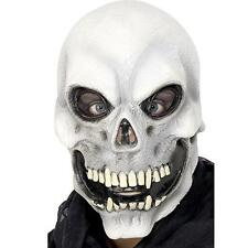 GHOST EVIL SKELETON LATEX HALLOWEEN SKULL FANCY DRESS COSTUME MASK GOTH NEW