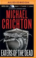 Eaters of the Dead by Michael Crichton (2016, MP3 CD, Unabridged)
