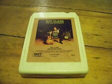 ROY CLARK THE ENTERTAINER 1974 DOT RECORDS 8-TRACK TAPE TESTED