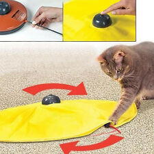 Pet Cat's Meow Toy V4 Electronic Interactive Undercover Mouse Cat Kitten Toys