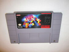 Tetris 2 (Super Nintendo SNES) Game Cartridge Excellent!
