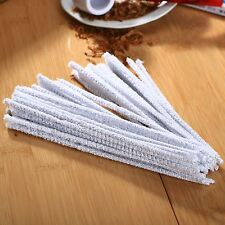 50pcs Smoking Tobacco Pipe Cotton Cleaning Rod Tool Chenille Cleaner Stick Stems