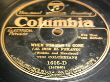 6/3R The Columbians - When Summer Is Gone - There's A Rainbow ................