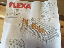FLEXA NATURAL BED SIDE RAIL CENTER ENTRY - FLEXA #7135113