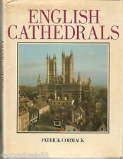 English Cathedrals by Patrick Cormack (1984, Hardcover) COLLECTIBLE Architecture