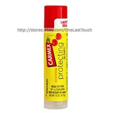 CARMEX Lip Balm/Gloss CHERRY Flavored Sunscreen SPF 15 PROTECTING (uncarded) NEW