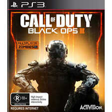CALL OF DUTY BLACK OPS III (3) - PS3 - NEW & SEALED - FREE UK POST - AU RELEASE