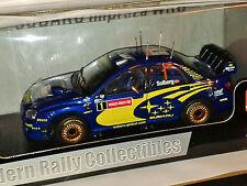 SUNSTAR SUBARU IMPREZA WRC RALLY DI GRAN BRETAGNA 2004 Petter Solberg 1/18 DIECAST NUOVO CON SCATOLA