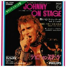 """JOHNNY HALLYDAY Que Je T'aime JAPAN 7"""" PICTURE SLEEVE ONLY/NO WAX SFL-1759 NM"""