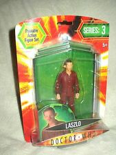 Doctor Who Action Figure Series 3 Laszlo 6 inch Back B