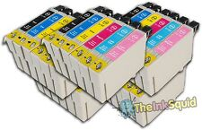 30 T0791-T0796 'Owl' Ink Cartridges Compatible Non-OEM with Epson Stylus PX700W