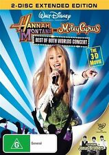 Hannah Montana And Miley Cyrus - Best Of Both Worlds Concert Tour DVD, R4..2417*