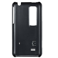 Nuevo Lg Optimus cch-140 Kick Stand Hard Skin Case Lg Optimus 3d-Negro