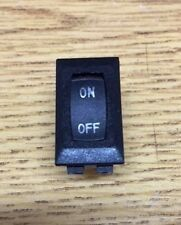 RV Trailer Black 12 Volt Single ON OFF Switch 20A 14DC 2 Prong SIGMA 1B CAMPER