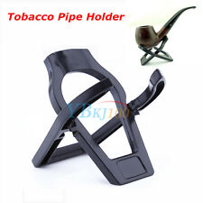 Unique Foldable Stand Smoking Pipe Tobacco Plastic Cigar Pipes Rack Holder Hot