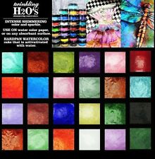 24-pk ColourArte Twinkling H2O's KIT #2453 Watercolor Paint - Spiced Sorbet