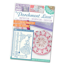 Tattered Lace - PARCHMENT LACE MAGAZINE - Issue 6 + Free Grid
