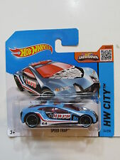 HOT WHEELS 2015 HW CITY -  SPEED TRAP  SHORT CARD