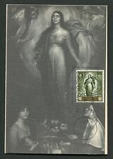 SPAIN MK 1965 MADONNA GEMÄLDE TORRES MAXIMUMKARTE CARTE MAXIMUM CARD MC CM d4117