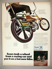 Sears Screamer Bicycle PRINT AD - 1969 ~~ bike