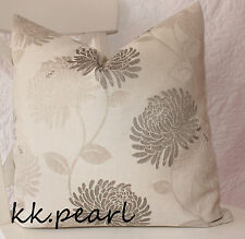 """Elegant Bold Floral Cushion Cover Maggie Levien for John Lewis  Decor Fabric 16"""""""