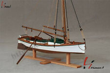 "Hobby ship model kits scale 1/35 7.8"" FLATTLE fishing boat wooden model"