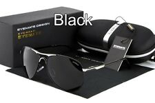 Polarized Men's Metal Frame Retro Outdoor Aviator Sunglasses Glasses Eyewear