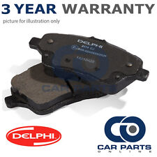 REAR DELPHI LOCKHEED BRAKE PADS FOR TOYOTA AVENSIS 1.6 1.8 2.0 D-4D 2.2 (2008-)