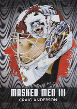 10-11 ITG Craig Anderson Masked Men III Between The Pipes SILVER
