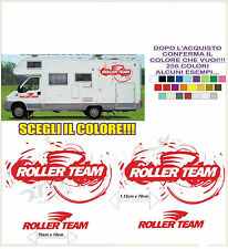 kit adesivi stickers compatibili camper roller team