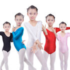 Girls Kids Ballet Dress Leotard Skirt Costumes Dancewear Gymnastic Toddler 3-10Y