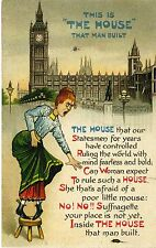 Super Suffragette Postcard