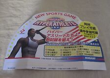 1996 KONAMI HYPER ATHLETE PROMO DISPLAY