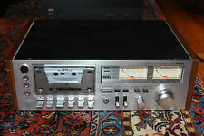 "Vintage AIWA AD-6550_Top line Cassette Deck ""PARTS OR REPAIR"""