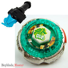 Fusion METAL Beyblade Masters BB-30 ROCK LEONE+BLUE STRING LAUNCHER+GRIP