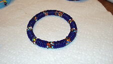 Maasai bead Bangle Bracelet Kenya African Jewelry bb 102 africa seed masi art