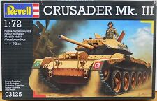Revell 1/72 scale Crusader Mk.III WWII British Army Armor Model Kit 03125 sealed