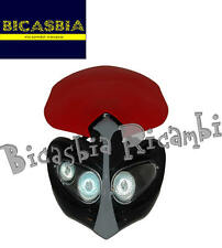 8410 - MASCHERINA FARO FANALE ANTERIORE DIAMOND ROSSA ENDURO CROSS NAKED