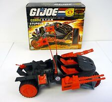 GI JOE COBRA STUN Vintage Action Figure Vehicle COMPLETE w/BOX 1986