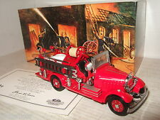 New Rare Matchbox YFE15 1935 Mack AB Fire Engine Diecast Model.
